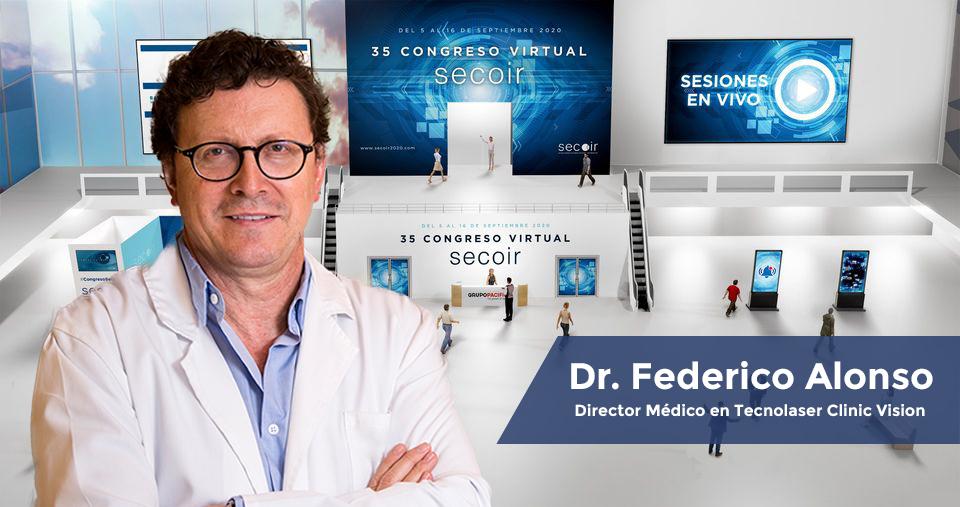 El Dr. Federico Alonso participa en el primer Congreso Virtual SECOIR
