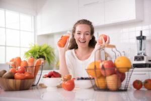 Vista: alimentos que ayudan a cuidarla